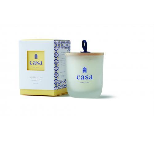 Casa - Soy Candle (20 Hours) - JASMINE TEA  / Casa - Chandelle de Soja (20 Heures) - FLEUR DE JASMIN
