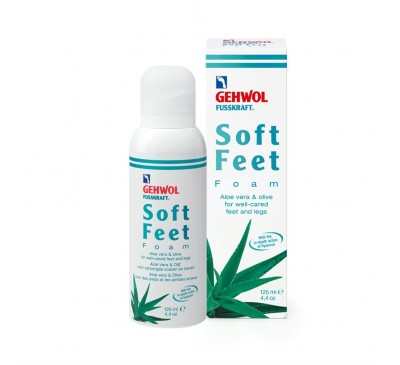 Soft Feet Mousse Foam Aloe Vera & Olive  125ml