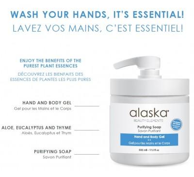 Alaska - Purifying Soap 500ml